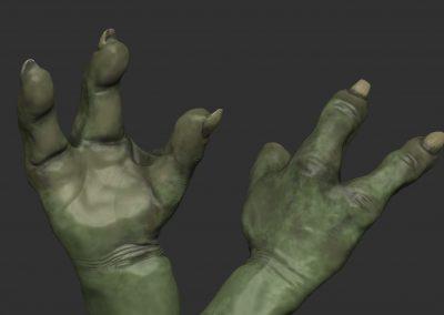yodas hands